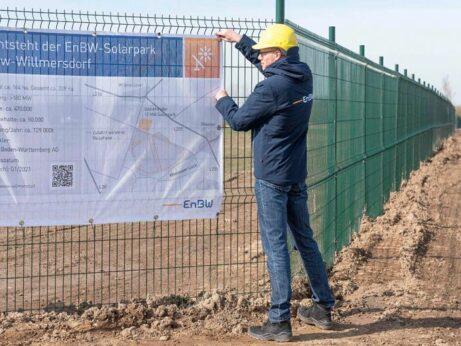 EnBW -solarpark-weesow-willmersdorf-bauschild_(2019) - 180MW